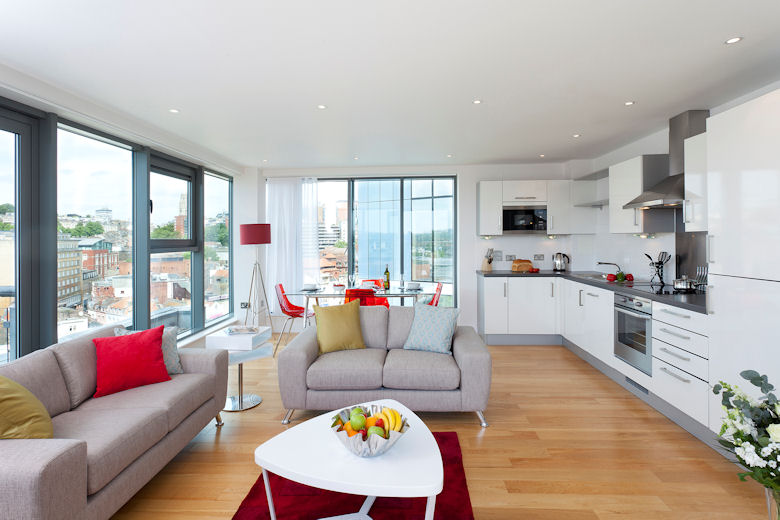 Serviced apartments Bristol, Avon | Broad Quay Apartments ...