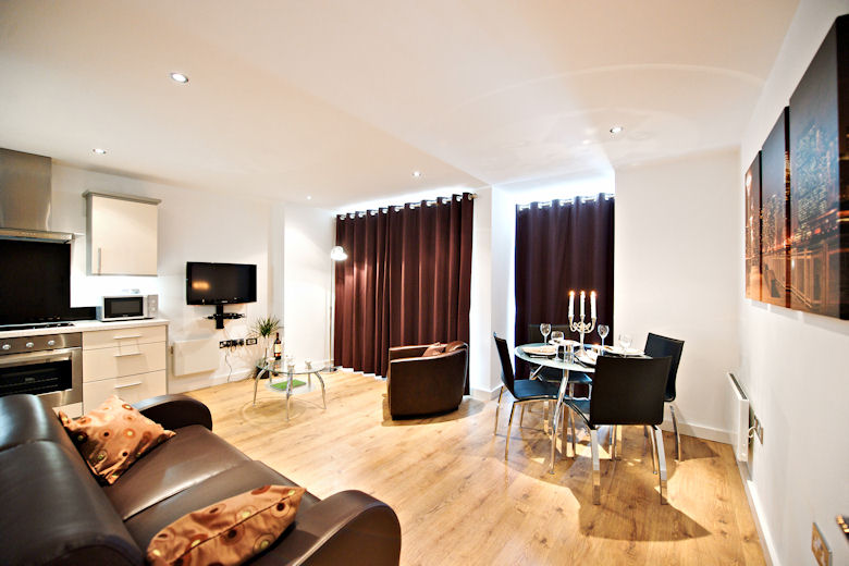 Short Stay Serviced Apartments In North England Including Manchester