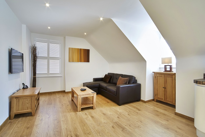 All apartments are beautifully finished with solid wood flooring and under floor heating