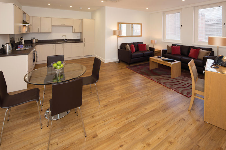 A fabulous, open plan living area