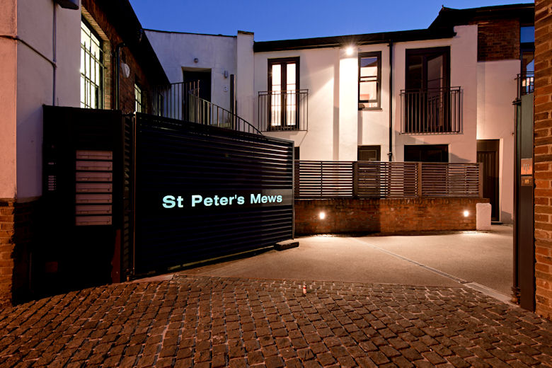 St Peters Mews exterior