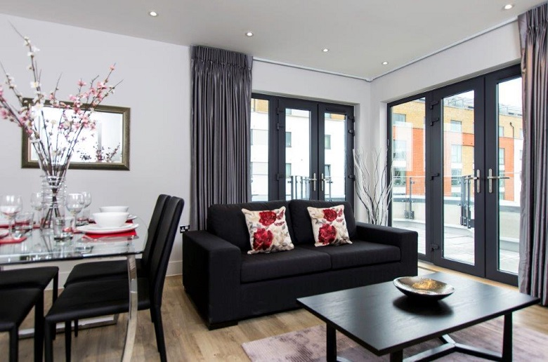 Another bright open plan living area